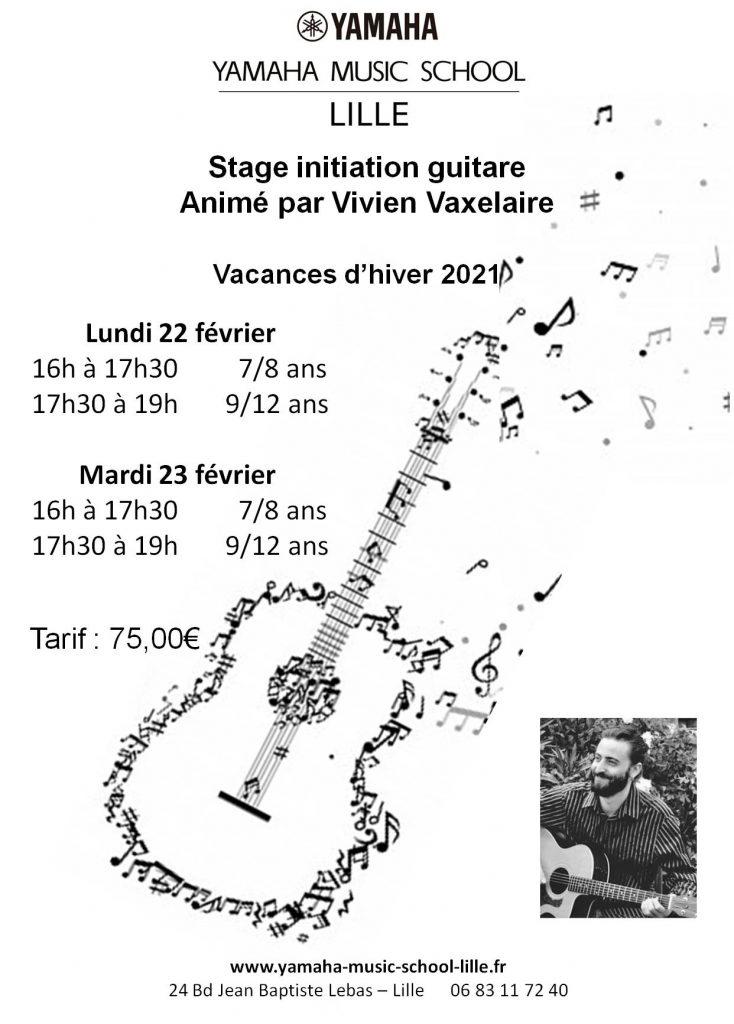Stage de guitare 2021